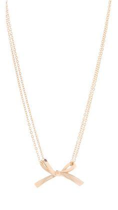 tuleste market Single Bow Necklace | SHOPBOP