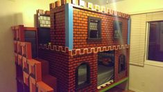 Mario Castle Bunk | Do It Yourself Home Projects from Ana White