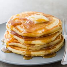 Best Buttermilk Pancakes Recipe - Cook's Illustrated...need to compare these to my favorite recipe.
