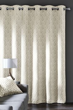 Buy Opulent Geo Jacquard Eyelet Curtains From The Next UK Online Shop