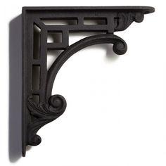 Traditional Style Cast Iron Shelf Bracket - Shelf Brackets - Hardware