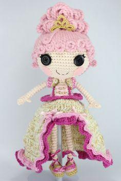 LALALOOPSY Goldie Luxe Crochet Amigurumi Doll by Npantz22.deviantart.com on @deviantART