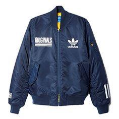 Buy New Adidas Men Originals Logo Varsity Jacket Classic Casual Street Bomber at online store Adidas Jacket, Bomber Jacket, Adidas Originals, The Originals, Adidas Men, Logos, Classic, Casual, Jackets