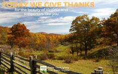Donate Now - Scenic Virginia Donate Now, Give Thanks, Happy Thanksgiving, Like You, Virginia, Thankful, Mountains, Quotes, Travel