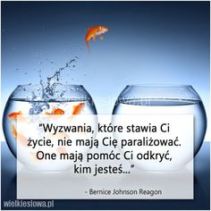 Wyzwania, które stawia Ci los… Deep Thinking, Thinking Quotes, Motto, Healthy Life, Life Is Good, Coaching, Inspirational Quotes, Thoughts, Humor