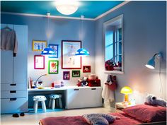 Ikea Stuva doing this in my daughters next bedroom