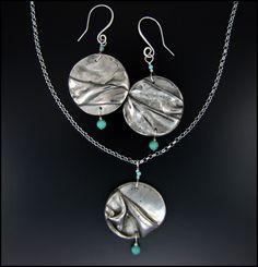 Laura Bracken Designs Blog: New Jewelry Creations with White Bronze Metal Clay