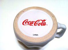 "Coca Cola Rare And Unique Ceramic Mug ""Coca Cola"" On The Bottom"
