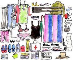 packing tips, bag, travel, trip, maleta, empacar