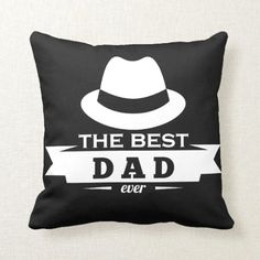 The Best Dad Ever Cool Creative Amazing Design Throw Pillow diy gifts for fathers day, diy fathers day gifts from, diy kids fathers day gifts Kids Fathers Day Gifts, Fathers Day Ideas For Husband, Easy Father's Day Gifts, Creative Mother's Day Gifts, Father Birthday Gifts, Easy Fathers Day Craft, Birthday Presents For Dad, Homemade Fathers Day Gifts, Grandparents Day Gifts