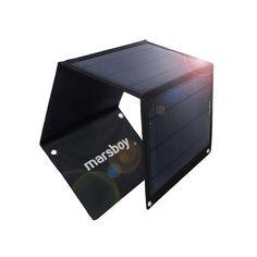 Marsboy Solar Ladegerät Charger 15W Dual-Port: Amazon.de: Elektronik