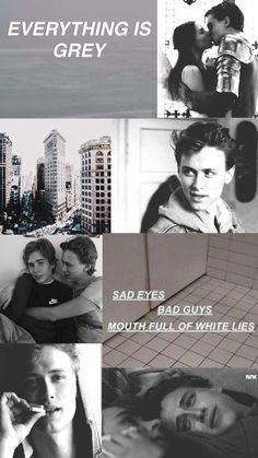 evak collage - skam // grey