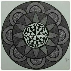 Another mandala that I've made. Size A3.  More at www.facebook.con/a.ana.darte