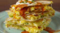 Loaded Breakfast Quesadillas