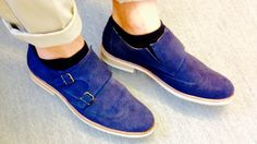 My blue suede shoes - Dahlin shoes