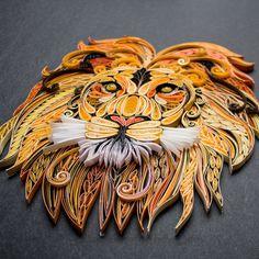 Hear Me Roar   Quilled Lion