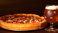 Berkeley Pizza - Chicago-style pizza and beer in North Park