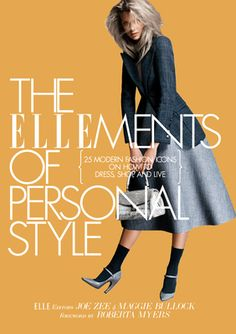 Great book, includes a few of my favorite people: Tracee Ellis Ross, Diane von Furstenberg and Estelle.