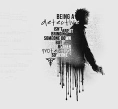 """Being a detective isn& about bringing someone down but rather protecting s. Psycho Pass Quotes, Kogami Shinya, Passing Quotes, Aldnoah Zero, Police Humor, Anime Manga, Detective, About Me Blog, Fan Art"