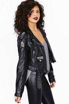 Safe Zone Leather Jacket