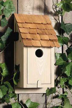 Classic Bluebird cages Classical Birdhouses in Garden