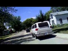 Go pro footage of a person biking through downtown Nappanee in 2011 - I wonder how much different it looked around 1970?