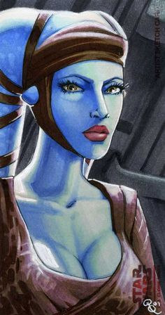 Aayla Secura return by Dangerous-Beauty778.deviantart.com on @deviantART