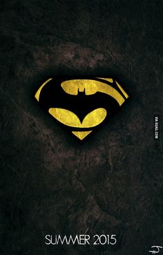 fan art poster Batman vs Superman: Dawn of Justice