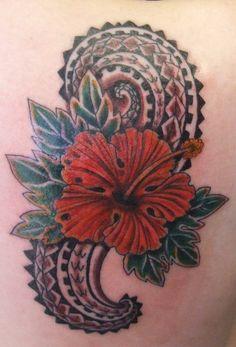 21 Best Tropical Flower Tattoos For Men images   Flower ...