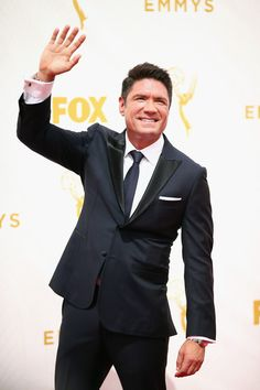 TV personality Louis Aguirre attends the 67th Annual Primetime Emmy Awards at Microsoft Theater on September 20, 2015 in Los Angeles, California.