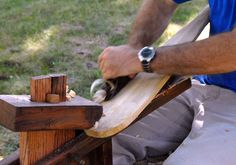 All I need are some vintage tools to make my own canoe paddle.