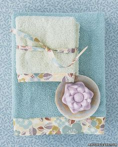 Housekeeping for 20-Somethings: 20 Ways to Make Like Martha - In a small twentysomething home, it's easy to relegate yourself to the lone single towel, to be washed only once a week. Martha says otherwise. Every person in a home should have two complete sets of towels -- that's a bath towel, a hand towel, and a washcloth. So your favorite beige towel (perfect for hiding stains!) won't cut it anymore; get another set, and start looking forward to fresh towels more often.