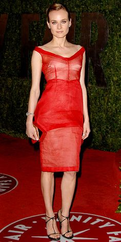 Diane Kruger in Calvin Klein  (March 2010)