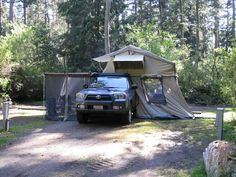 Toyota Gallery | Cascadia Vehicle Roof Top Tents