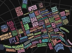 Melbourne stereotype map - so fabulous if you know and love Melbourne!