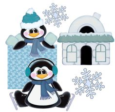 SALERetiring Soon Collections Winter Clipart, Phone Backgrounds, Winter Snow, Paper Piecing, Cutting Files, Minnie Mouse, Disney Characters, Fictional Characters, Scrapbooking