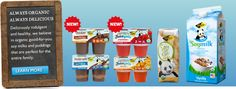 Great tasting soy milks and puddings. Always organic, always delicious! - ZenSoy