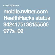 mobile.twitter.com HeaIthHacks status 942417513815556097?s=09