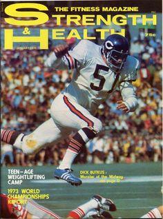 Dick Butkus, linebacker for the Chicago