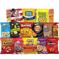 Frito-Lay Ultimate Snack Care Package, Variety Assortment of Chips, Cookies, Crackers & More, 40 Count Bag Of Cheetos, Cheetos Crunchy, Chester, Family Movie, Cheap Gift Baskets, Cheap Gifts, Toasted Crackers, White Cheddar Popcorn, Bbq Potatoes