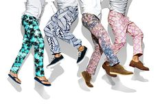 patterned pants | if they're ok with the august wsj then yes you can | please do