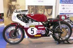 John Cooper's 1971 BSA Rocket Motorcycle. Beautiful Cafe Racer!