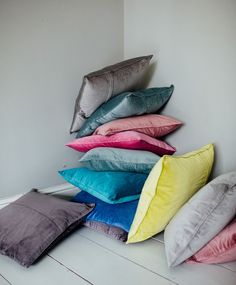Velvet Cushion | Colourful soft velvet cushions | Olive & the Fox