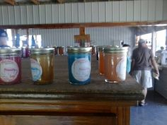 Very pretty Amish made candles.