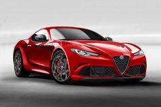 Alfa Romeo 6C Coupe (render)