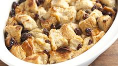 Looking for a classic baked dessert? Then check out this delicious bread pudding that is ready in an hour.