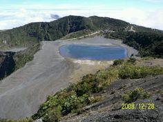 Volcan Irazu, Cartago, Costa Rica