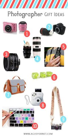 Photographer gift ideas!