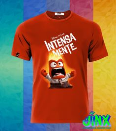 $179.00 Playera o Camiseta Intensamente, Furia, Alegria, Miedo, Asco, Tristeza