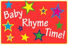 Baby Rhyme Time at Lakes Regional Library - Mondays 10:00-10:30